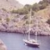 The Same Little Yacht on the Northern Part of Mallorca