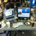 My desk at work!